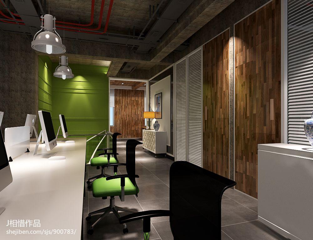 科技公司简约办公室装修设计图片赏析