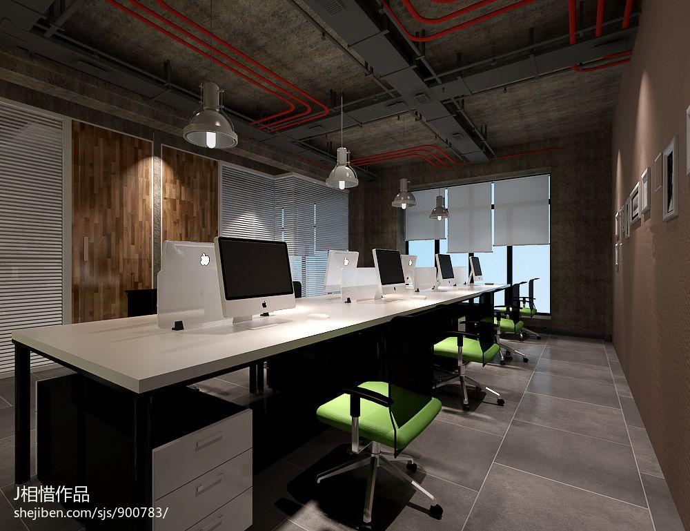 科技公司简约办公室装修设计设计图片赏析