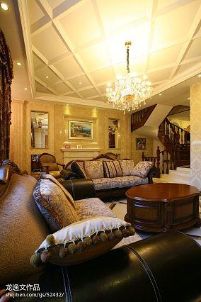 热门135平米欧式别墅客厅实景图片欣赏