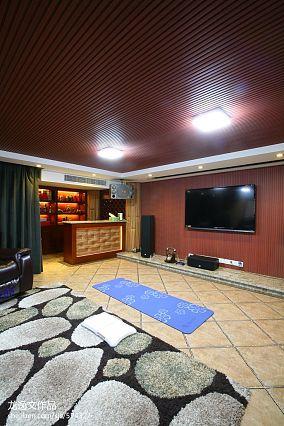 别墅液晶电视背景墙装修效果图片