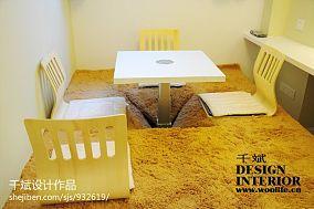 精选85平米现代小户型休闲区实景图片欣赏