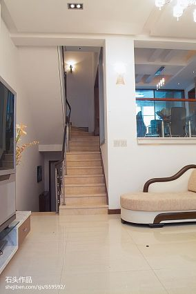 复式楼楼梯装修效果图大全