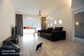 精选82平方二居客厅现代装修图片