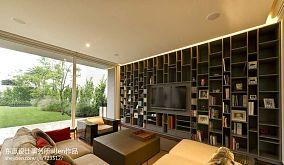 114平米现代别墅客厅装修实景图片