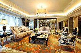 106.0平精美混搭客厅装修实景图