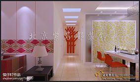 现代中式客厅沙发背景墙