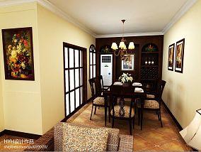 瓷砖餐厅背景墙