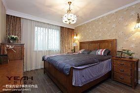 面积96平混搭三居卧室装修图片大全