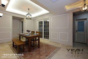热门面积99平混搭三居餐厅装修设计效果图