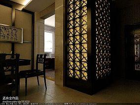 美式风格95平米公寓设计效果图大全欣赏