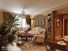精美79平米简约公寓休闲区欣赏图