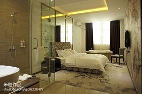复古感2室1厅风格效果图