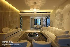 现代美式别墅整体楼梯