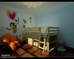 精美95平方三居卧室混搭欣赏图片大全