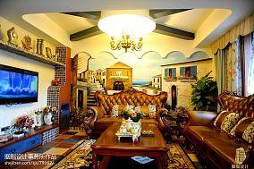 精美47平混搭復式客廳圖片欣賞