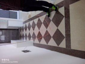 热门104平米三居过道混搭装修实景图片欣赏
