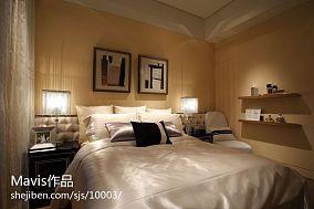 现代布艺软床图片