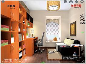 客厅隔小书房装修效果图