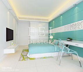 精美129平方四居卧室混搭实景图片