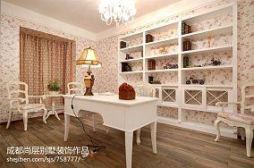 美式家装金迪玻璃木门图片