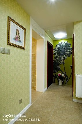 热门139平米混搭复式玄关装修实景图片