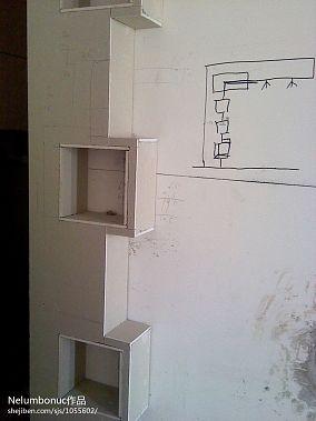 欧式家庭茶室圆形吊顶设计