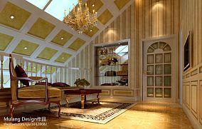 豪华别墅楼梯间设计