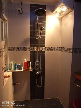 精美87平米混搭小户型卫生间装修欣赏图