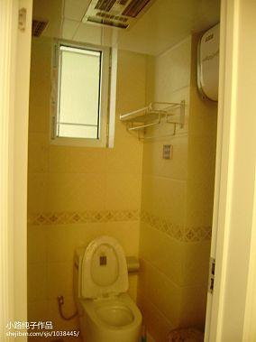 装修样板间卫生间浴室柜图片