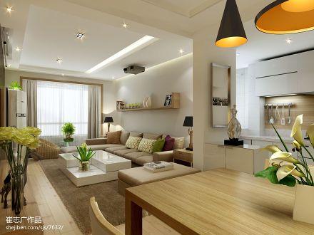 201888平米二居客厅现代装修图片欣赏
