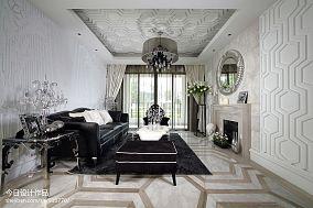 美式小别墅设计客厅装修