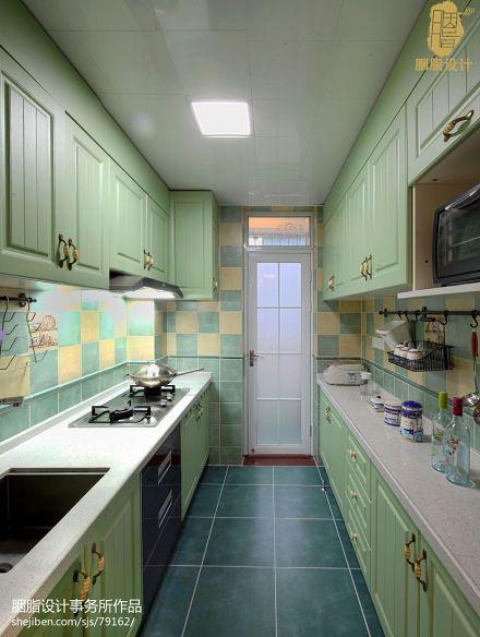 温馨81平混搭二居厨房装修效果图餐厅