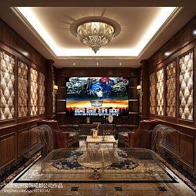 现代风格100平米三室两厅设计图片