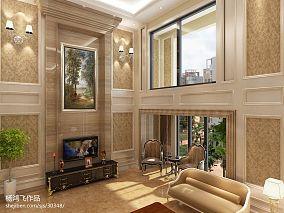 欧式客厅窗户装修设计图片