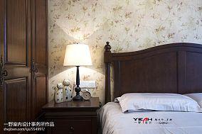 2018精选83平米二居卧室混搭装修设计效果图片大全