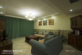 玫瑰湾休闲美式客厅装饰客厅2图潮流混搭设计图片赏析