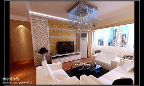 100平米房屋客厅装修效果图片