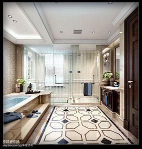 轻奢简欧风格客厅吊顶设计