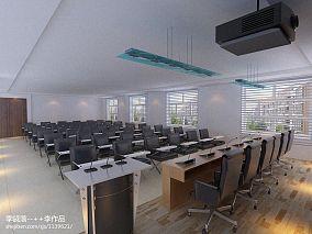 中式田园风格客厅效果图