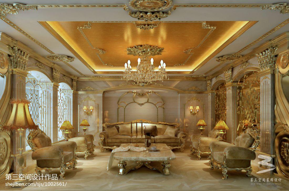 温馨261平混搭别墅客厅装饰图片潮流混搭设计图片赏析