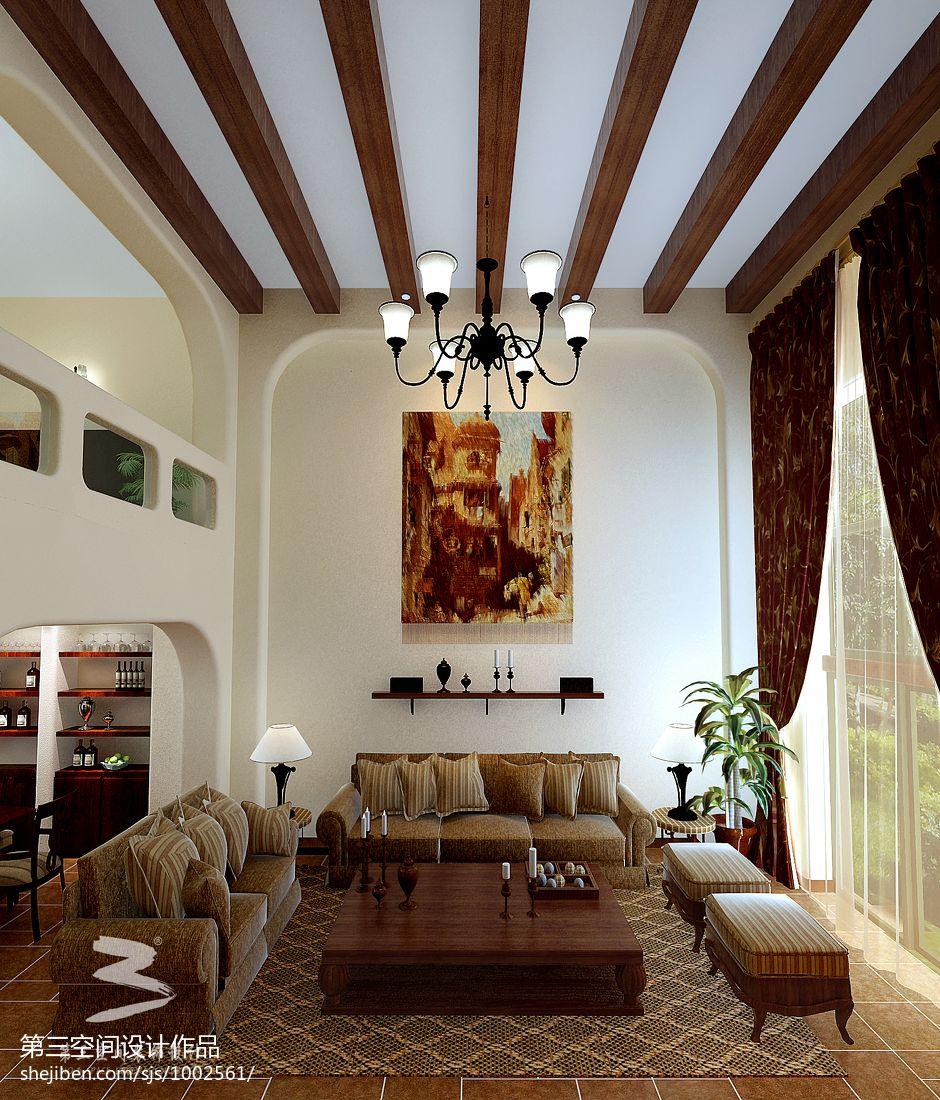 精美623平混搭别墅客厅装潢图客厅潮流混搭客厅设计图片赏析