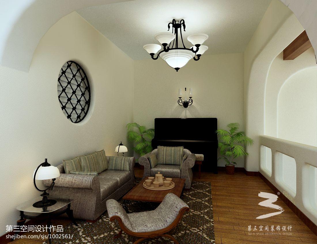 质朴867平混搭别墅休闲区设计图功能区潮流混搭功能区设计图片赏析