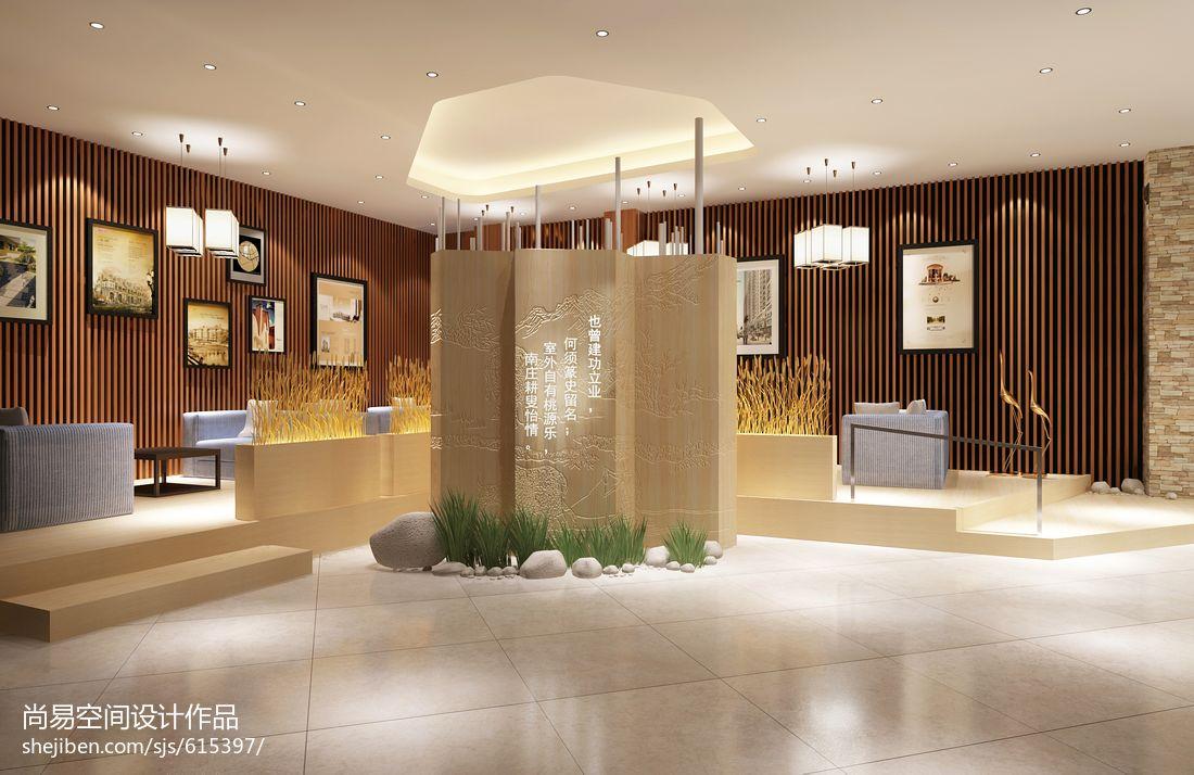 德安绿谷嘉园售楼会所设计售楼中心设计图片赏析