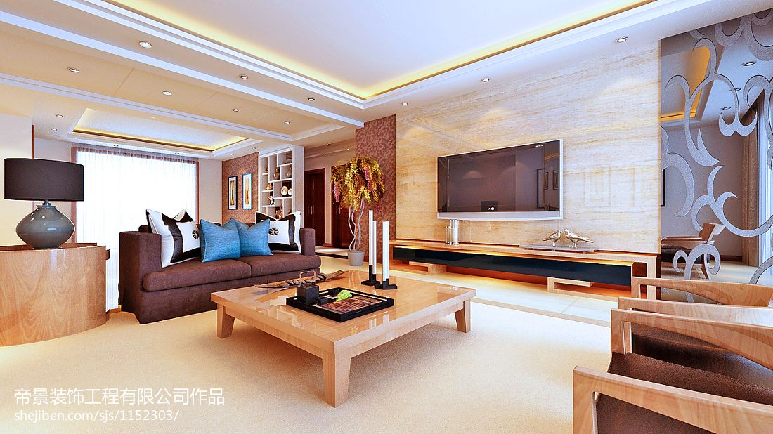 煌客厅潮流混搭客厅设计图片赏析