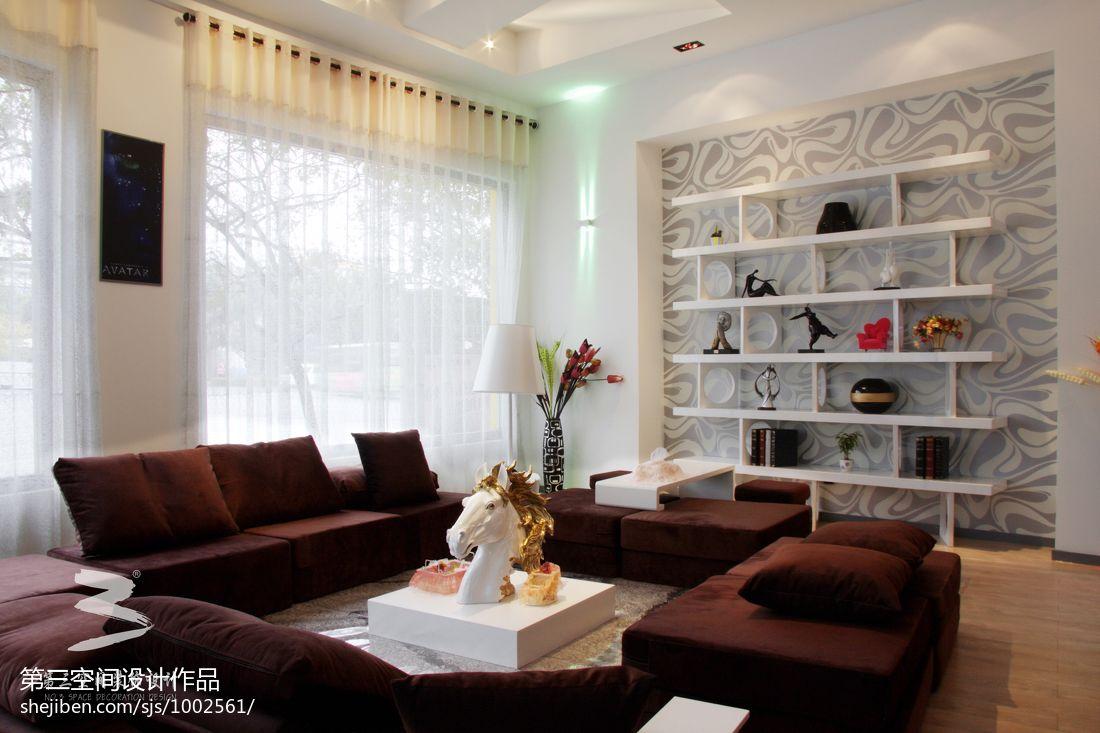 82.9平热门客厅混搭装修图片客厅潮流混搭客厅设计图片赏析