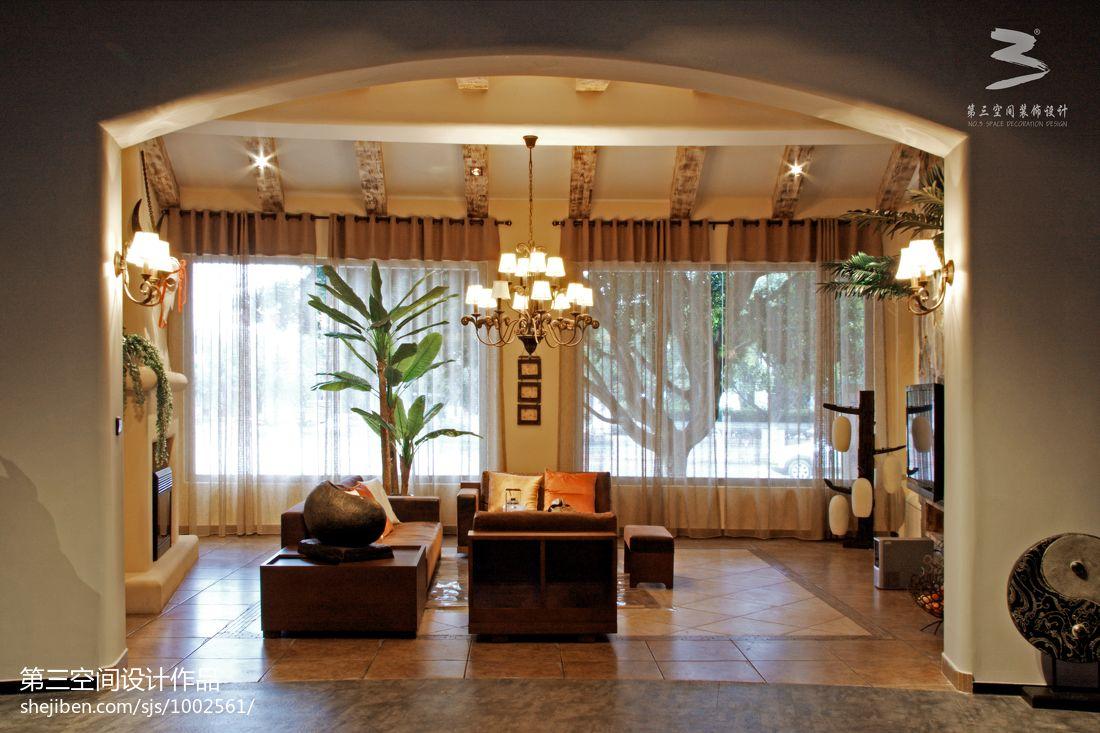 精美客厅混搭装修实景图片客厅潮流混搭客厅设计图片赏析