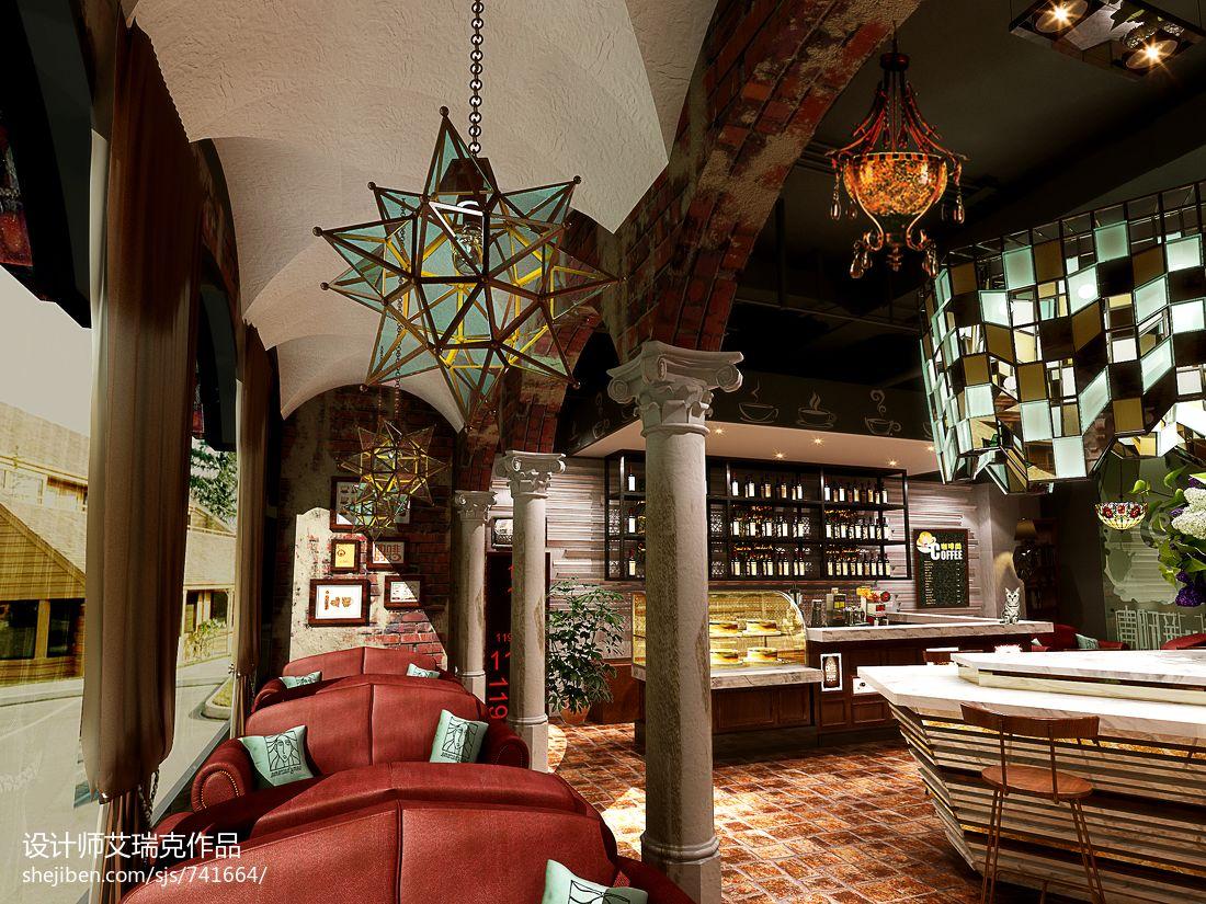 新华联咖啡厅餐饮空间其他设计图片赏析
