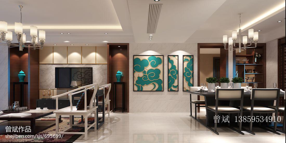精美105平米三居混搭装修效果图片客厅潮流混搭客厅设计图片赏析