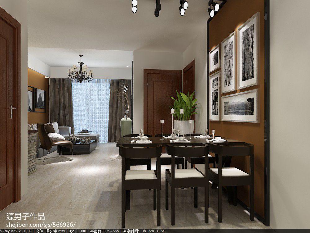 梧州简约风格家装设计厨房潮流混搭餐厅设计图片赏析