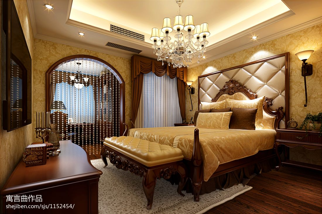 精选141平米四居卧室混搭装修图片欣赏卧室潮流混搭卧室设计图片赏析